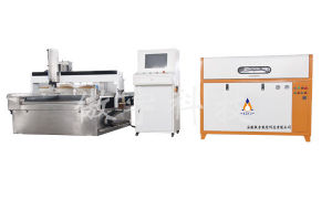 3-Axis Water Jet Cutting Machine pictures & photos