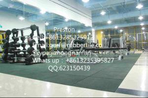 Rubber Flooring Tile, Gym Flooring Mat, Playground Antishocking Carpet pictures & photos