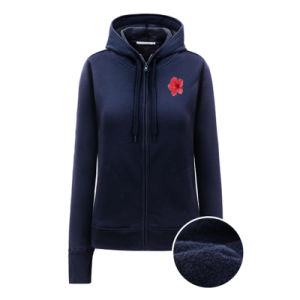 Brushed Fabric Women Hoodies pictures & photos
