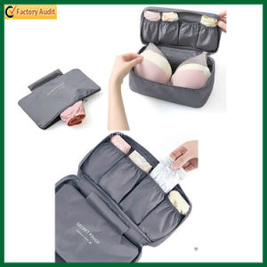 Mummy Bag Travel Underwear Bag Polyester Fold Storage Bag (TP-0B028) pictures & photos