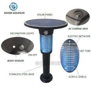 Ornamental Mosquito Killer Light Mosquito Trap Solar Insect Killer Light pictures & photos