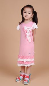 Beautiful High Quality Girls Dress Wholesales pictures & photos
