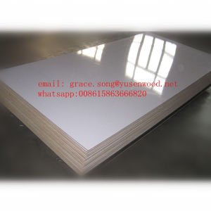 9mm White Melamine MDF for Writing Board pictures & photos