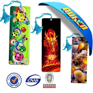 Full Color Lenticular Printing 3D Bookmarks pictures & photos