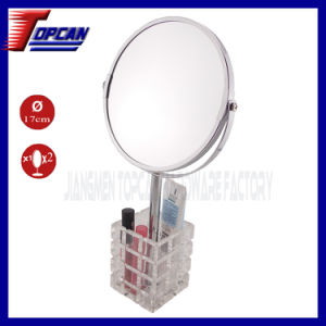 Metal Cosmetic Standing Fashion Mirror