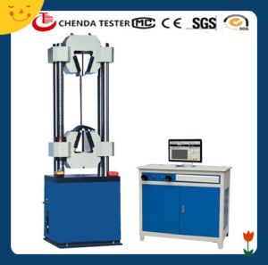 Waw-300b Computer Servo Control Hydraulic Highten Tensile Testing Machine pictures & photos