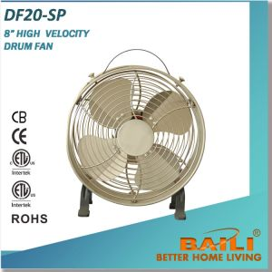 Hot Selling 8 Inch Drum Fan with Different Color pictures & photos