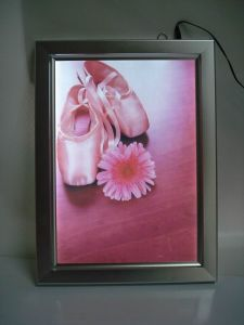 Aluminum Snap Frame Slim Light Box pictures & photos