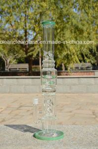 Newest High Quality USA Color Glass Bon Glass Water Pipe with Creative Perc pictures & photos