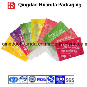 Gravure Printing Plastic Strawberry Juice Packaging Bag, Strawberry Juice Pouch pictures & photos
