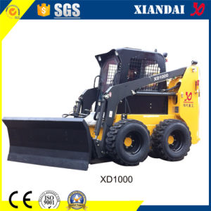 1000kg Skid Steer Loader with Joystick for Sale pictures & photos