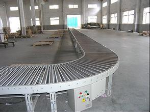 CB118 Series Curved Roller Conveyor pictures & photos