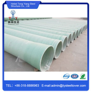 Glass Fiber-Reinforced Plastic Resin Water GRP Pipe pictures & photos