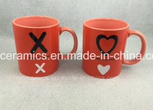 Two Tone Mug, Red Mug, Promotional Ceramic Mug pictures & photos
