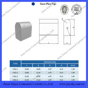 2015 High Quality Tungsten Carbide Snow Plow Inserts pictures & photos