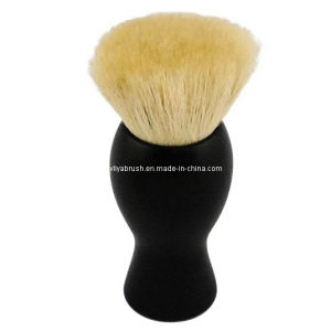 Flat Shave Brush with Goat Hair