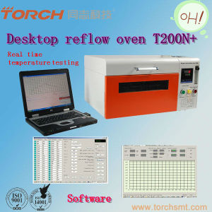 Desktop Nitrogen Reflow Oven with Temperature Testing T200n+ (TORCH) pictures & photos