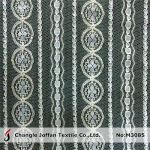 Textile Geometric African Net Lace Fabric (M3085) pictures & photos