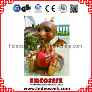 Simulation Animatronic Coin-Operated Amusement Parks Ride Animal Riding Dinosaur pictures & photos