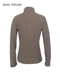 Women Long-Sleeve Printed Micro Fleece Jacket pictures & photos