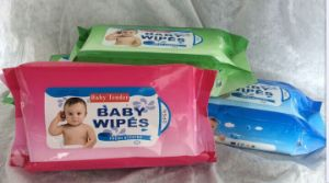 Hand and Mouth Nonwoven Scented Baby Wet Wipes pictures & photos