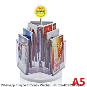 New Design Rotating Acrylic Book Stand pictures & photos