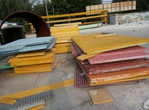 FRP/GRP Covered Grating for Water Treatment pictures & photos