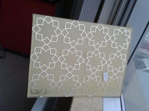 Tempered Silk Screen Glass with Different Patterns pictures & photos