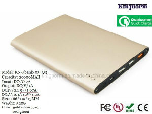Customized Logo Color 20000mAh Fast Charging Portable Power Charger pictures & photos