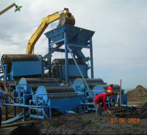 Iron Ore Magnetic Separation Plant