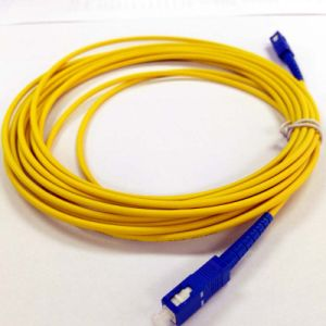 Sc/Upc-Sc/Upc Fiber Patch Cord 1-20 Meter Available pictures & photos