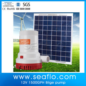 Drinking Water Pump High Capacity 1500gph 24V Solar Submersible Water Pump pictures & photos