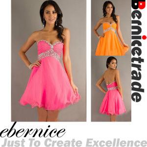 Lovely Nini Chiffon Sweetheart Cocktail Dress