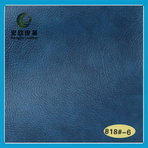 Eco-Friendly Abrasion Resistant Semi-PU Leather (818#-6) pictures & photos