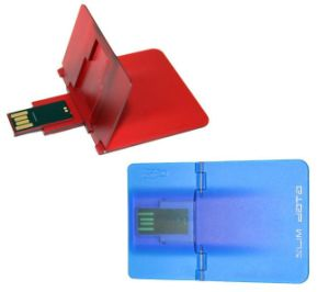 Colourful Plastic Card USB Stick with Your Logo pictures & photos