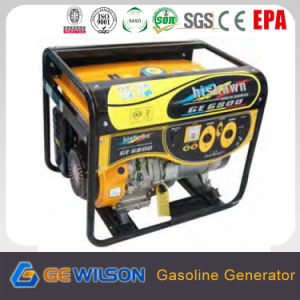 Powertec 4-Stroke 5.5kw Digital Gasoline Generator pictures & photos