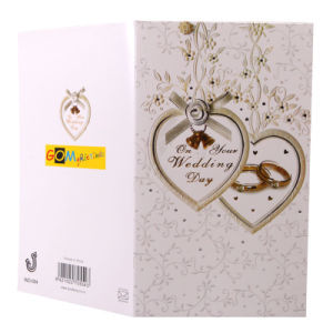 New Design Wedding Invitation Greeting Cards (WD-004)