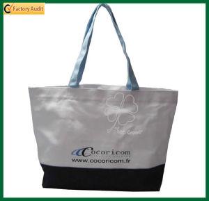 Cheap Organic Cotton Reusable Print Tote Bags (TP-TB035) pictures & photos