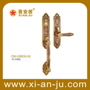 High Quality Hardware Brass Handle Door Lock (DM-09B09-09)