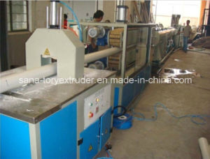 Conical Twin Screw Extruder Machine PVC Plastic Pipe Production Line pictures & photos