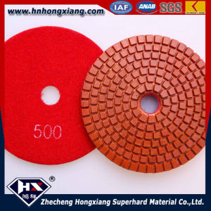 High Gloss Wet Flexible Diamond Polishing Pads (HX) pictures & photos