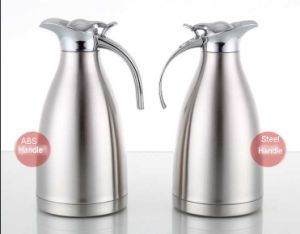 201 Stainless Steel Vacuum Coffee Pot with ABS Handle pictures & photos