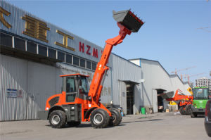 China Manufacture Telescopic Forklift Loader (60KW, 2.5 Ton, Can Custom Design, Tier4 Engine Optional) pictures & photos