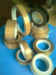High Density PTFE Coated Fiberglass Adhesive Tape pictures & photos