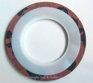 Solid Flat Pure PTFE Gasket pictures & photos