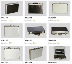 Aluminum Material Briefcase (XY027) pictures & photos