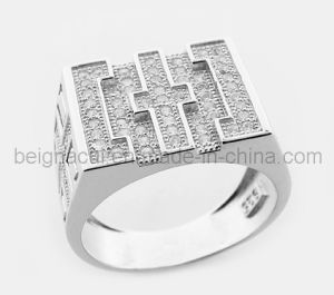 925 Sterling Silver Bishop Rings