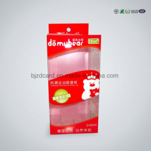 Plastic PP Pet PVC Printing Underwear Box Packaging pictures & photos