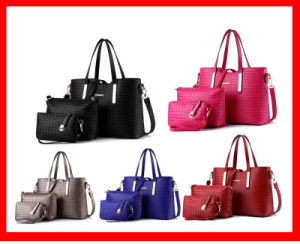 China New Products 2015 Shoulder Bag Korean Style Handbag Sets for Lady with 3 PCS