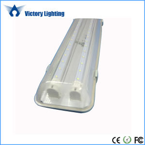 Tri-Proof Fitting 2X18W T8 IP65 Waterproof LED Tube pictures & photos